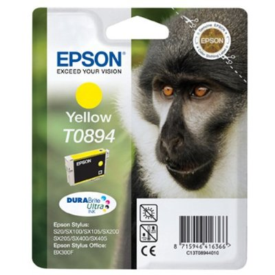 Epson Ink Cartridge T0894 Yellow