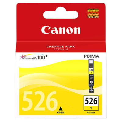 Canon Ink Cartridge CLI-526Y Yellow