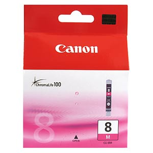 Canon Ink Cartridge CLI-8M Magenta