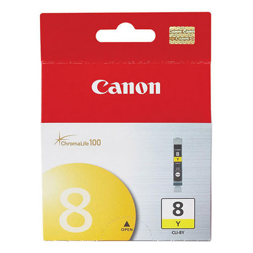 Canon Ink Cartridge CLI-8Y Yellow