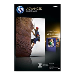 ADVANCED GLOSSY PHOTO PAPER 25SHT 13X18CM 250G/QM